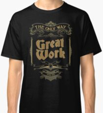 VINTAGE TYPOGRAPHY Classic T-Shirt
