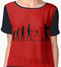 Evolution Zombie Women's Chiffon Top