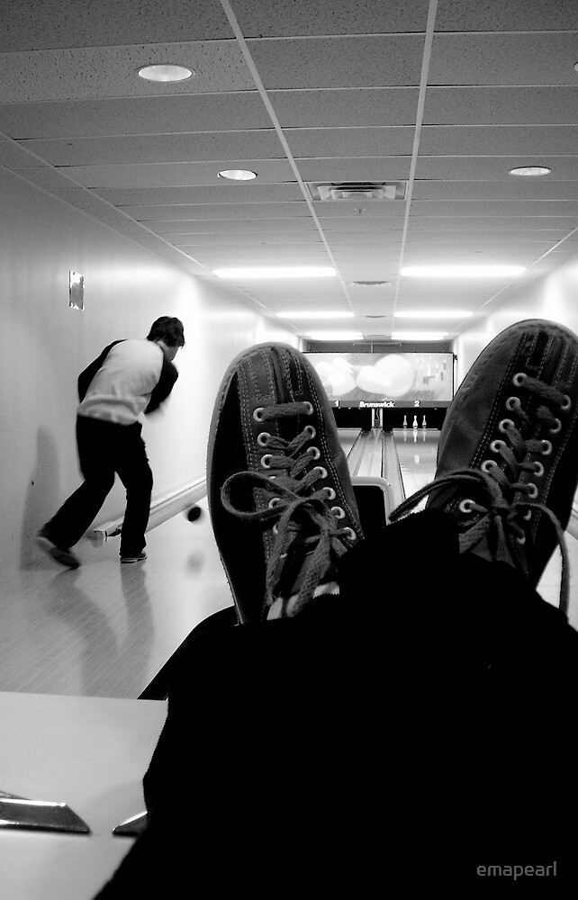 them bowling shoes...  by emapearl