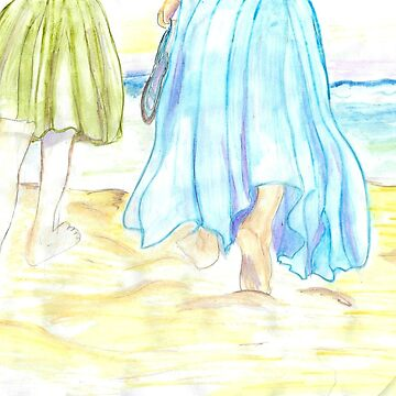 Barefoot At The Beach by RosevineCottage