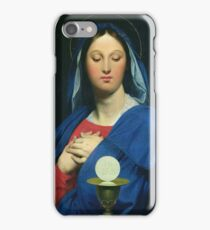 Jean - Auguste - Dominique Ingres - The Virgin Of The Host iPhone Case/Skin