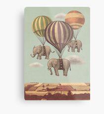 Flight of the Elephants Metal Print