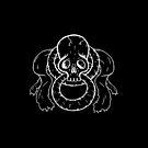 Infinity Skull - White by Alessandro Bricoli