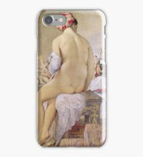 Jean - Auguste - Dominique Ingres - Odalisque Or The Small Bather iPhone Case/Skin