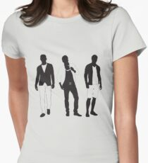 Stylish trio Womens Fitted T-Shirt