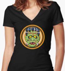 Frankie Mask Women's Fitted V-Neck T-Shirt