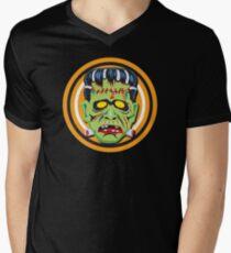 Frankie Mask Men's V-Neck T-Shirt