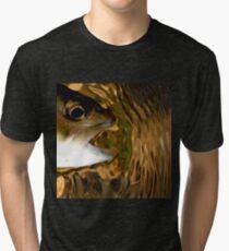 Ripple Brown Tri-blend T-Shirt