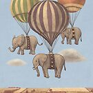 Flight of The Elephants  by Terry  Fan