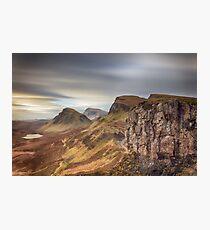 Quiraing - Isle of Skye Photographic Print