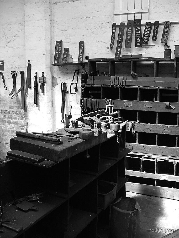 Ye Olde Workshop by rodgeyrog