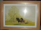 Shire Horses, Shropshire by Janet  Stead