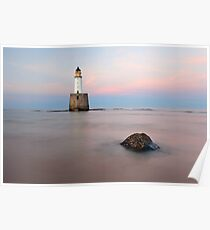 Sunset at Rattray Head Lighthouse Poster