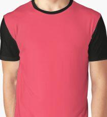 Neon Color - Brilliant Amaranth Graphic T-Shirt