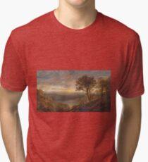 Jasper Francis Cropsey - Greenwood Lake Tri-blend T-Shirt
