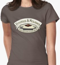 potatoes and molasses womens fitted t shirt - Over The Garden Wall Merchandise