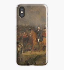Jan Willem Pieneman - The Battle Of Waterloo, 1824 iPhone Case/Skin