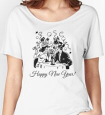 Happy New Year Couple of some bygone age Women's Relaxed Fit T-Shirt