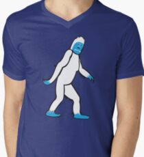 The Abominable Yeti Men's V-Neck T-Shirt