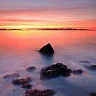 Coastal Sunset Kintyre by Grant Glendinning