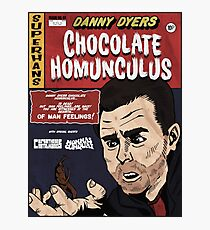 Danny Dyers Chocolate Homunculus Photographic Print