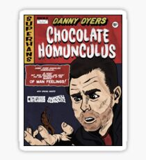 Danny Dyers Chocolate Homunculus Sticker