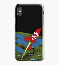 Tintin Rocket iPhone Case/Skin