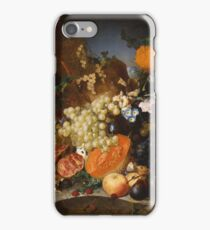 Jan Van Os - Still Life With Fruit 1769 iPhone Case/Skin