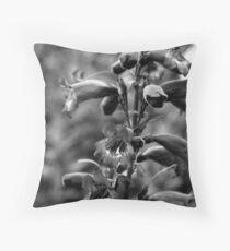 Delphiniums Throw Pillow