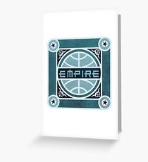 EMPIRE Greeting Card