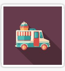 Ice Cream Van Sticker