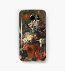 Jan Van Huysum - Vase Of Flowers Samsung Galaxy Case/Skin