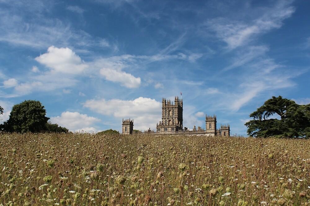 Highclere Castle a.k.a. Downton Abbey by corrado