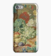 Jan Van Huysum - Still Life With Flowers And Fruit 2 iPhone Case/Skin