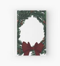 Wreath Hardcover Journal
