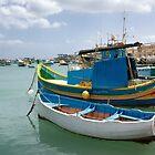 Fishing Boats in Marsaxlokk  by Kasia-D
