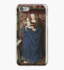 Jan Van Eyck - The Virgin And Child With Saints And Donor iPhone Case/Skin