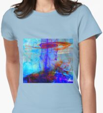 Intertwined Souls Dance Womens Fitted T-Shirt