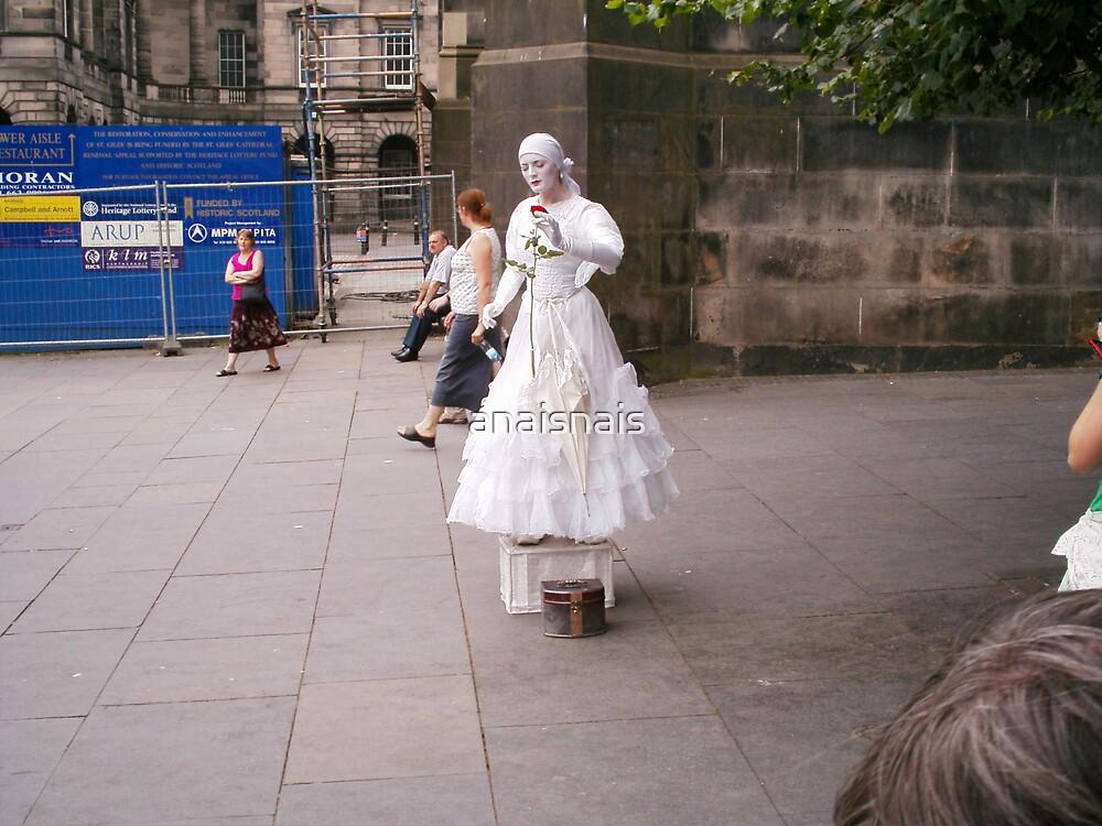 street artist - Edinburgh by anaisnais