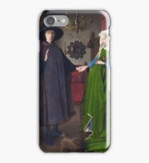Jan Van Eyck - Giovanni Arnolfini And His Bride (The Arnolfini Marriage) iPhone Case/Skin