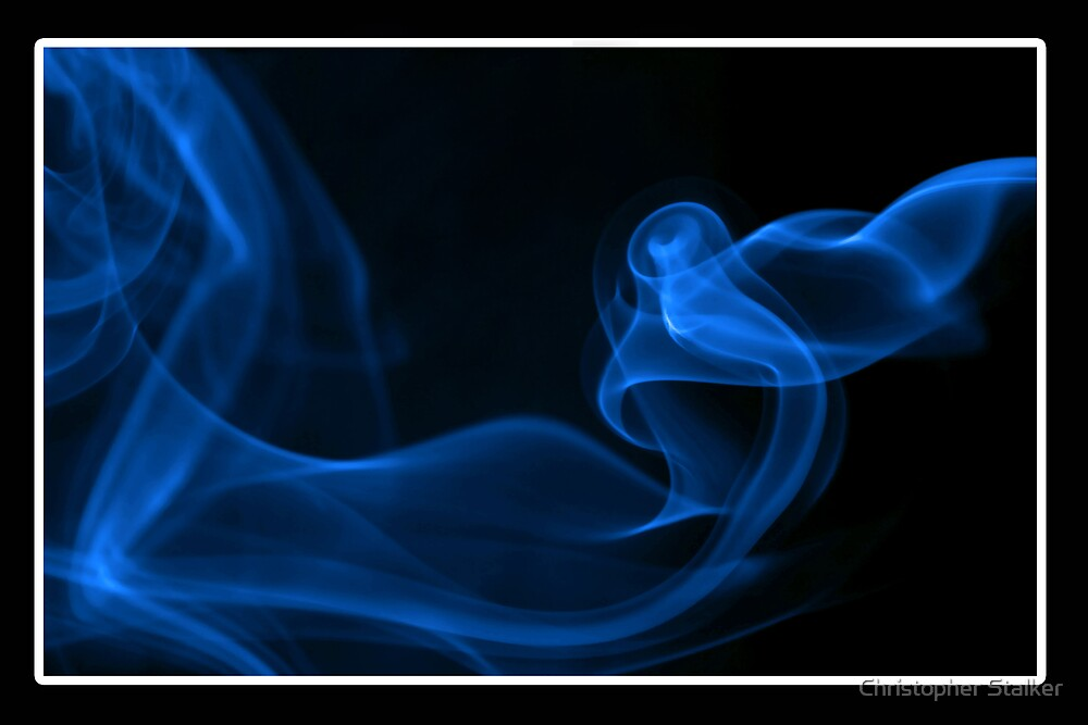 blue smoke twist by Christopher Stalker