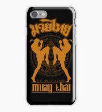 Muay Thai Garuda Fighter iPhone Case/Skin