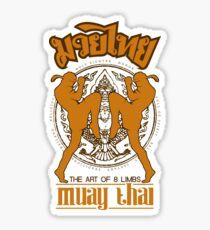 Muay Thai Garuda Fighter Sticker