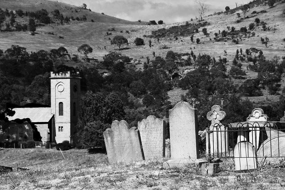 Richmond cemetary, Tasmania by Robyn Lakeman