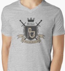 The Once and Future King Men's V-Neck T-Shirt