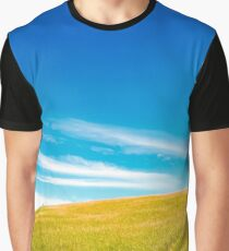 Alberta Blue: The Back Field I Graphic T-Shirt