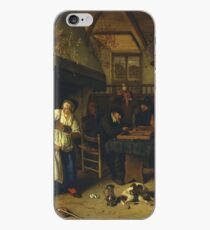 Jan Steen - two Kinds Of Games, 1679 iPhone Case