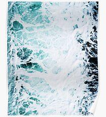 Landscape Blue water, Sea print, Ocean print, Minimalist Poster