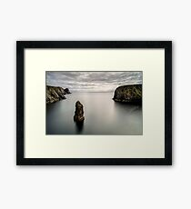 Glencolmcille sea stacks Framed Print