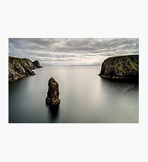 Glencolmcille sea stacks Photographic Print